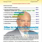 Inflationsschutzbrief 1-2015 Silber unterbewertet