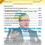 INFLATIONSSCHUTZBRIEF AUSGABE 12 / 2014