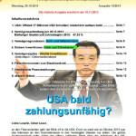 Inflationsschutzbrief 13/2013 USA pleite
