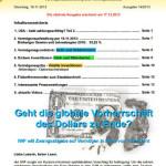Inflationsschutzbrief 14-2013: Dollar Vorherrschaft Ende