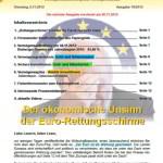Inflationsschutzbrief 18-2012 Euro Rettung Sinn Unsinn
