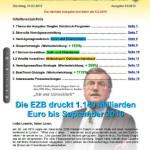 Inflationsschutzbrief Ausgabe 3 / 2015: EZB fährt letztes Geschütz auf