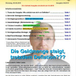 Inflationsschutzbrief Ausgabe 4/2015: Geldmenge steigt trotzdem Deflation