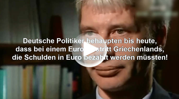 Griechenland As Krise Pleite Video (Inflationsschutzbrief)