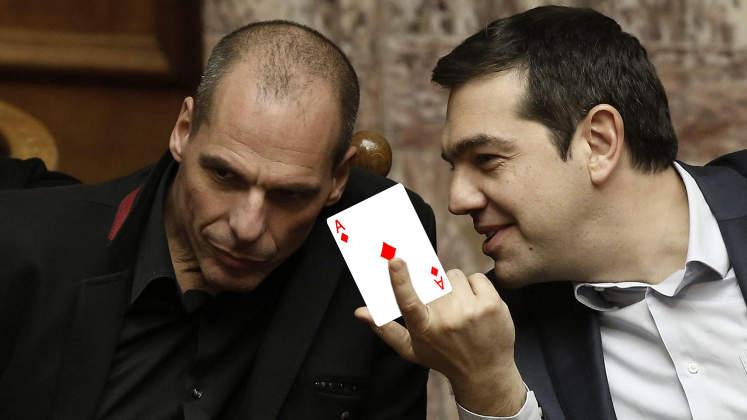 Griechenland Krise As gegen Pleite (Staatsbankrott)