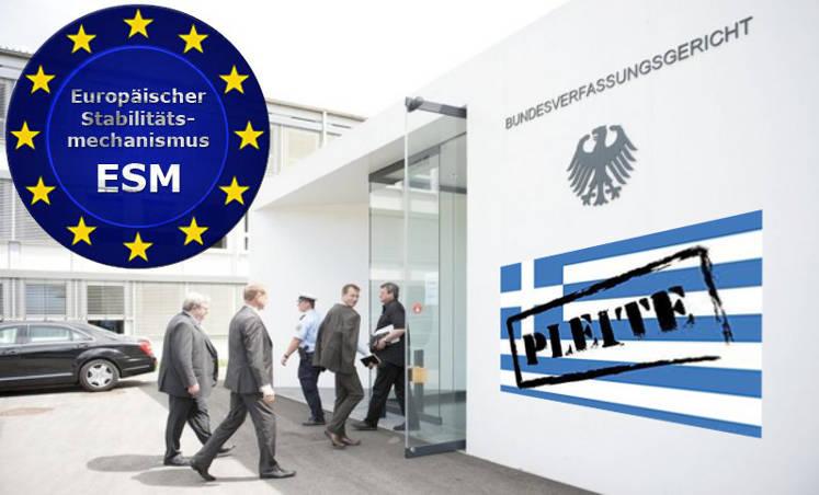 ESM rettet Griechenland ohne Mandat des Bundestages