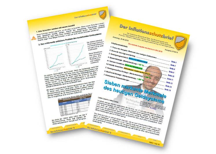 Inflationsschutzbrief Ausgabe 7/2015: Probleme des Kreditgeld-Systems