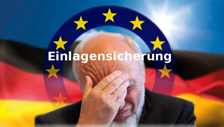 Prof. Hans-Werner Sinn: neue EU-Einlagensicherung ist katastrophaler Unsinn