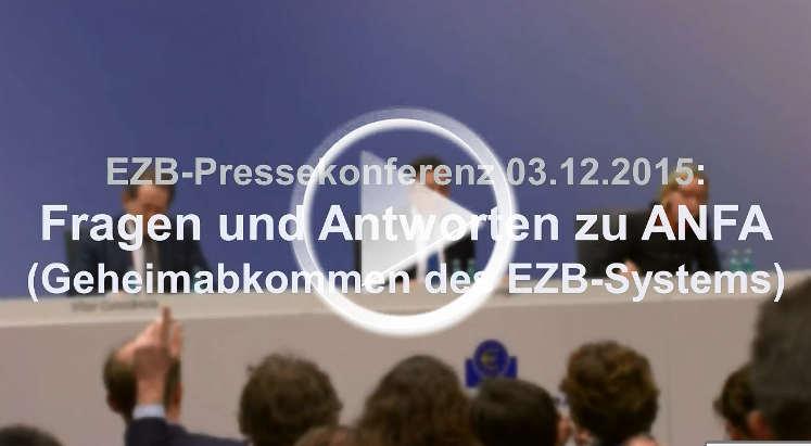 EZB-Pressekonferenz: Antworten von Mario Draghi zum ANFA-Abkommen