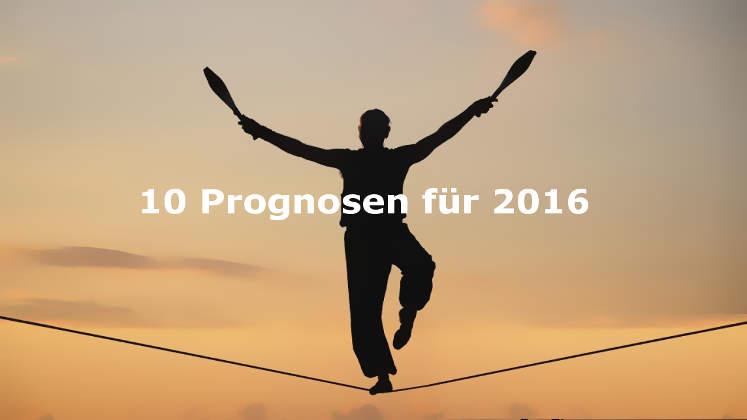 Negative Börsen- und Aktien-Prognose für 2016