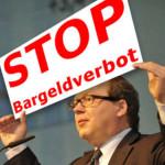 Stop Bargeldverbot - Schuldgeldsystem erzwingt Enteignung