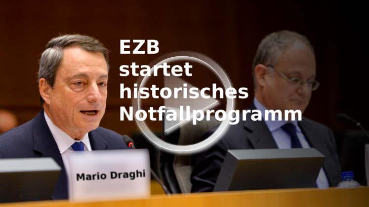 EZB-Maßnahmen: Notfallprogramm - Nullzinsen gegen Weltwirtschaftskrise 2016