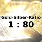 Silberpreis: Gold-Silber-Ratio 1:80 Chancen Anleger