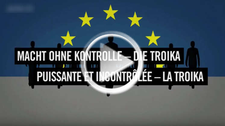 Griechenland: Wie die Trioka das Finanzsystem rettet