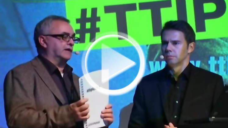 Video: TTIP-Geheimdokumente von Greenpeace veröffentlicht - Monopol der US-Finanzoligarchie