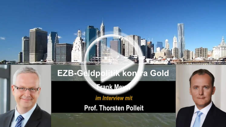 Folgen EZB-Geldpolitik und Goldpreis-Entwicklung