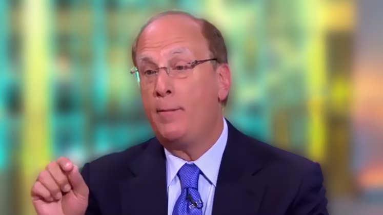 BlackRock-Chef Larry Fink: US-Börsen mehr Risiken als Chancen