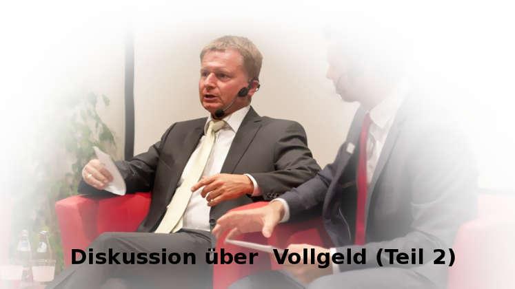 Raimund Brichta / Bernhard-Albrecht Roth diskutieren Banken-Geldschöpfung, Wachstumszwang und Vollgeld