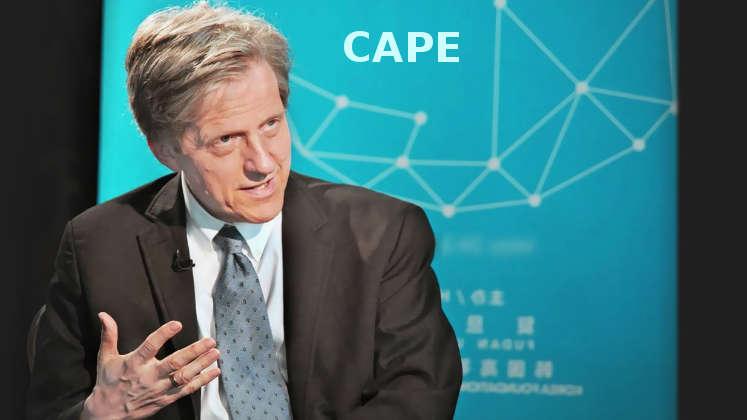 Countdown Börsencrash: Robert Shiller Cape als Crash-Indikator