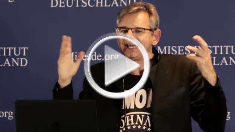 Vortrag Bitcoin-Jünger Aaron Koenig: Zukunft der Krypto-Währungen / Gefahr einer Blase