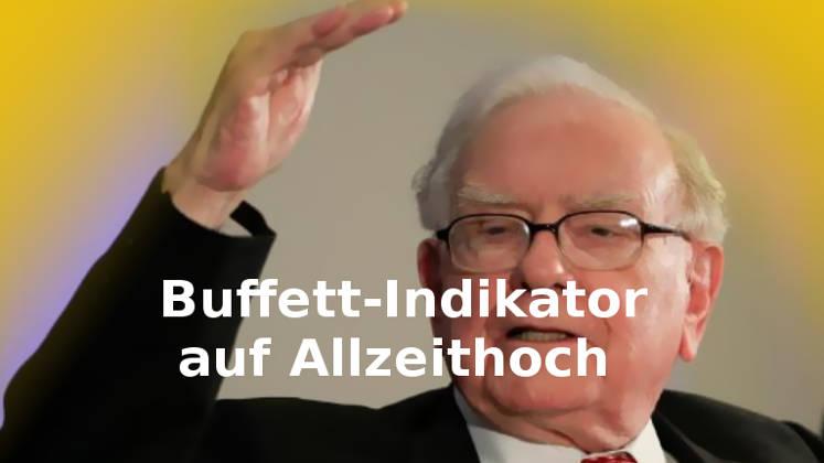 Warren Buffett erwartet Abschwung US-Wirtschaft