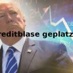Finanzblase bzw. Kreditblase platzt - Börsen werden weiter fallen