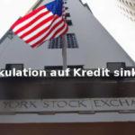 Margin Debt stärkster Einbruch seit Finanzkrise