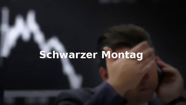 Schwarzer Montag trotz Zinssenkung - Börsen in Bärenmarkt