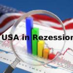 USA seit April 2020 in Rezession